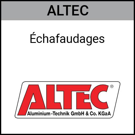 Altec, échafaudages, Gouvy Houffalize Bastogne Saint-Vith Clervaux Luxembourg