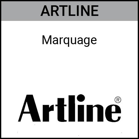 Artline, marqueurs indélébiles, marqueurs permanents, Gouvy Houffalize Bastogne Saint-Vith Clervaux Luxembourg