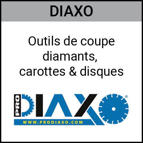 Diaxo, outils, coupe, diamants, carottes, disques, Gouvy Houffalize Bastogne Saint-Vith Clervaux Luxembourg