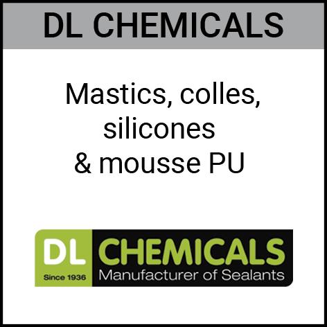 Dlchemicals, mastics, colles, silicones, Gouvy Houffalize Bastogne Saint-Vith Clervaux Luxembourg