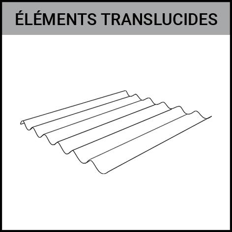element translucide, ondulé, profilé, plat, bardage, toiture, Gouvy Houffalize Bastogne Saint-Vith Clervaux Luxembourg