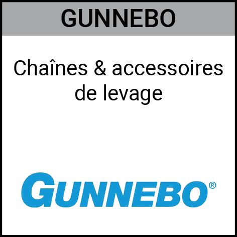 Gunnebo, chaînes, accessoires, levage, Gouvy Houffalize Bastogne Saint-Vith Clervaux Luxembourg