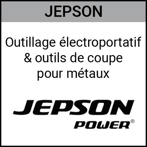 Jepson, outillage, éléctroportatif, coupe, métaux, Gouvy Houffalize Bastogne Saint-Vith Clervaux Luxembourg