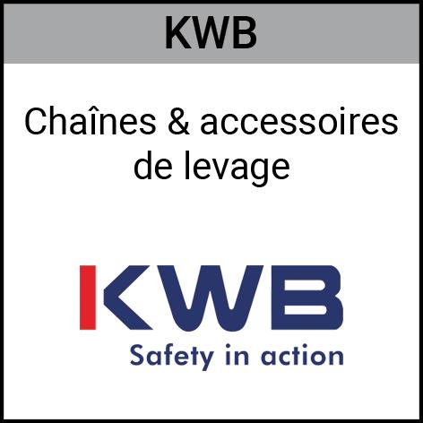 Kwb, chaînes, accessoires, levage, Gouvy Houffalize Bastogne Saint-Vith Clervaux Luxembourg