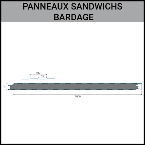 panneaux, sandwichs, jiwall, bardage, toiture, Gouvy Houffalize Bastogne Saint-Vith Clervaux Luxembourg
