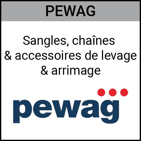 Pewag, sangles, chaînes, accessoires, levage, arrimage, Gouvy Houffalize Bastogne Saint-Vith Clervaux Luxembourg