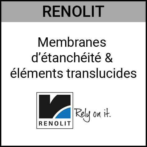 Renolit, membranes d'étanchéité, éléments translucides, Gouvy Houffalize Bastogne Saint-Vith Clervaux Luxembourg