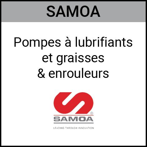 Samoa, pompe, lubrifiant, graisse, enrouleurs, Gouvy Houffalize Bastogne Saint-Vith Clervaux Luxembourg