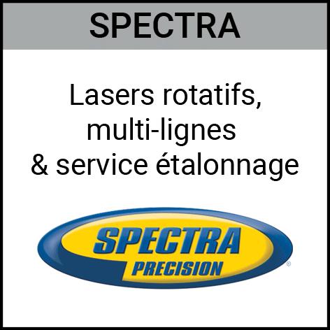 Spectra, lasers, rotatifs, multi-lignes, étalonnage , Gouvy Houffalize Bastogne Saint-Vith Clervaux Luxembourg