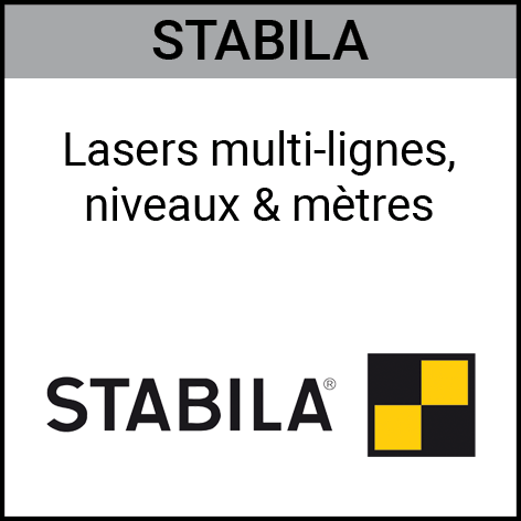 Stabila, laser, multi-ligne, niveau, mètre, Gouvy Houffalize Bastogne Saint-Vith Clervaux Luxembourg