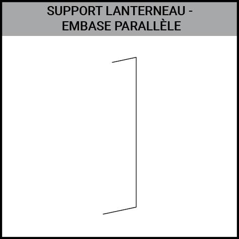 support, lanterneau, embase parallele, bardage, toiture, Gouvy Houffalize Bastogne Saint-Vith Clervaux Luxembourg