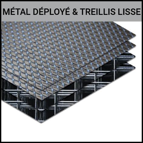 METAL DEPLOYE MDB TREILLIS LISSE GOUVY LEXER