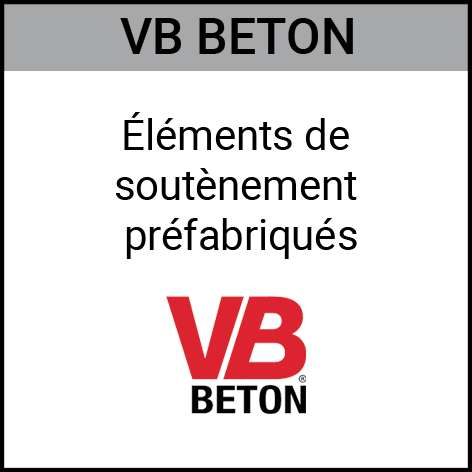 Vbbeton, éléments, soutènement, préfabriqués, Gouvy Houffalize Bastogne Saint-Vith Clervaux Luxembourg